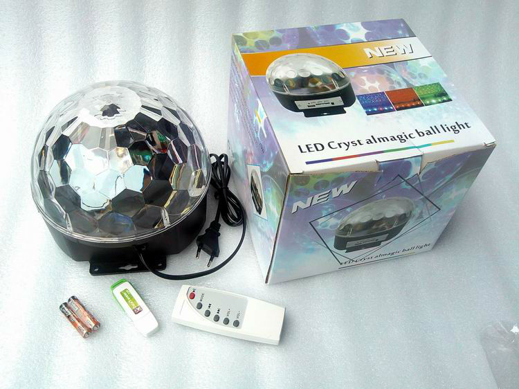New led Diamond ball light, Flashing laser stage lamp, flashing stage lights, Laser Stage Lamp for Disco Party
