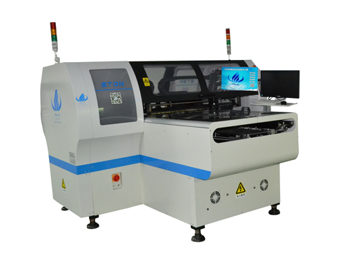 Pick and Placement, HT-E8T-1200, Double module multi-funtional high speed mounter