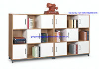 popular office book cabinet in melamine wooden material office furniture C-311