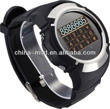 Touch screen GSM watch cell phone watch with bluetooth function