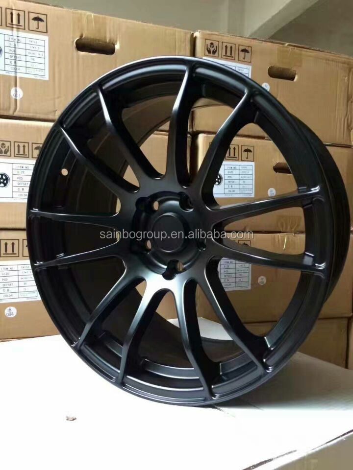 Alloy wheel PCD 100 112 120 for car 16 17 18inch 2350