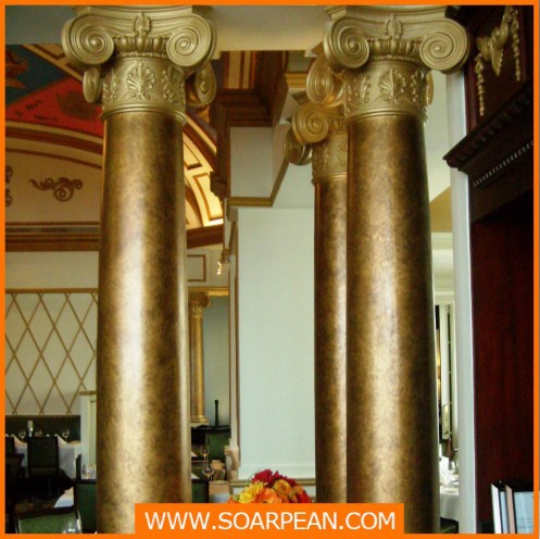 decorative fiberglass column/roman pillar