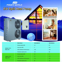 Best Sale EVI Split Air to Water Heat Exchanger for All-day Hot Water or House Heating Air Conditioner