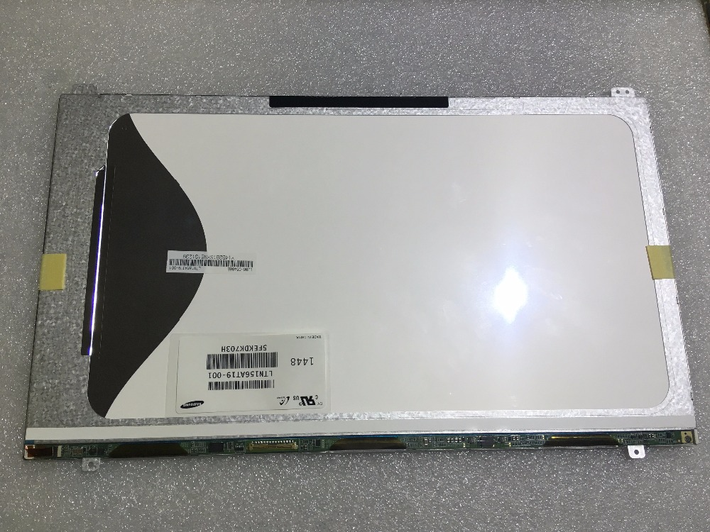 "Hot sale new led screen replacement 15.6"" laptop LCD LED display panel for Samsung LTN156AT19-001 lcd screen replacement"