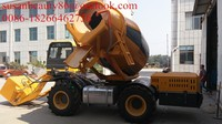 china direct factory 0.5m3 mobile concrete mixer truck