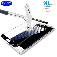 Samsung Galaxy Note 7 No fingerprint Hydrophobic Coating Anti Oil Tempered glass phone screen protector