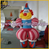 Attractive Advertising Commercial Inflatable Costumes, Moving Cartoon Costume, Inflatable Clown Costume