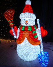 24V/110V/220V Outdoor attractive acrylic animals led holiday decor magic white christmas 2014 new hot items gifts