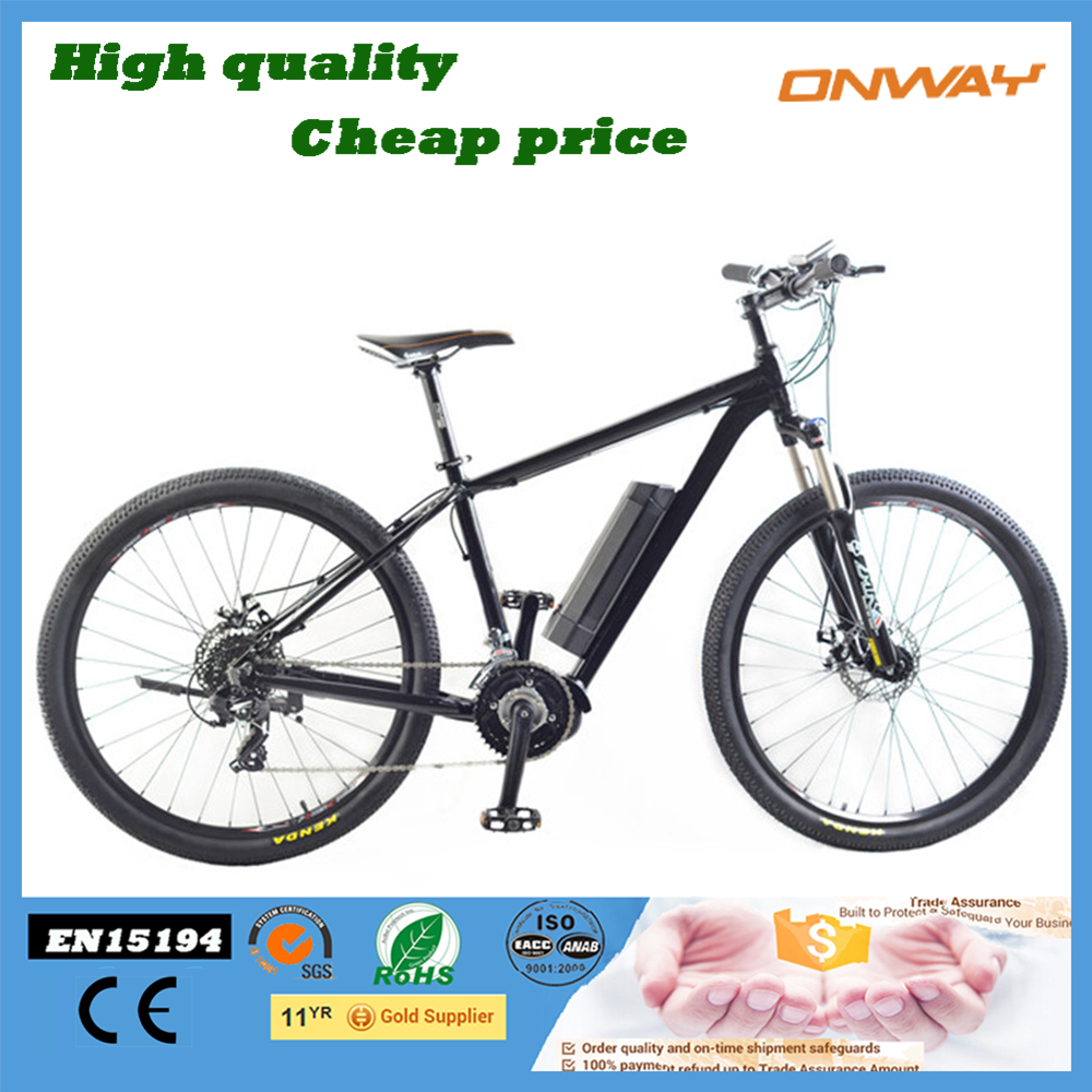 full suspension mountain ebike enduro ebike with powerful lithium battery