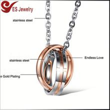 High Quality Name Accessories For Women Gold Plated Necklace