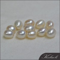5-6mm AAA rice loose pearl natural
