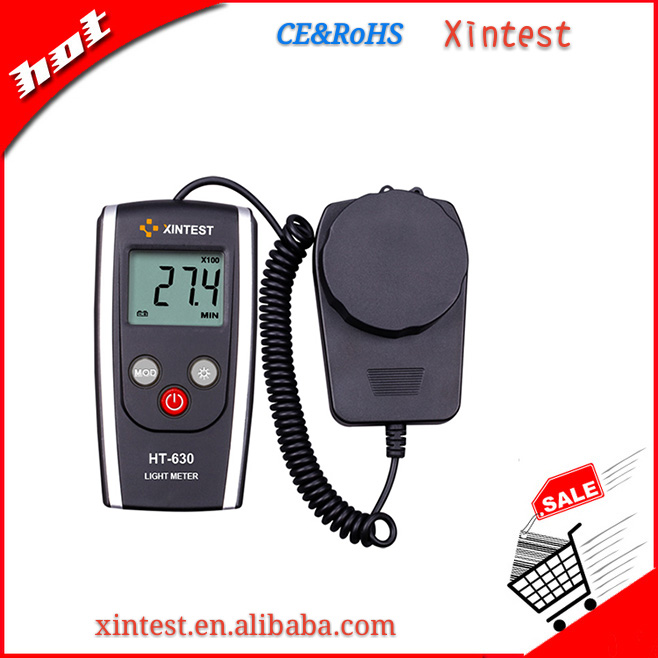 LCD high quality professional Display Handheld Digital Lux Light Meter Photometer Up to 200,000 Lux Wholesale