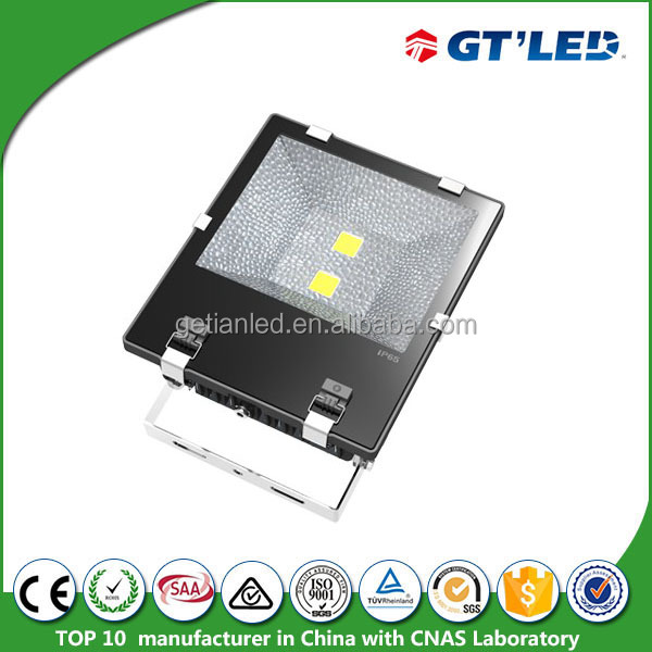 100W IP65 floodlight building meanwell driver light 3 years warranty led flood 6500K led projector in 2016