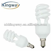 High quality half spiral electricity saving lamps