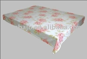 Coral Fleece Blanket( Floral---Peony)