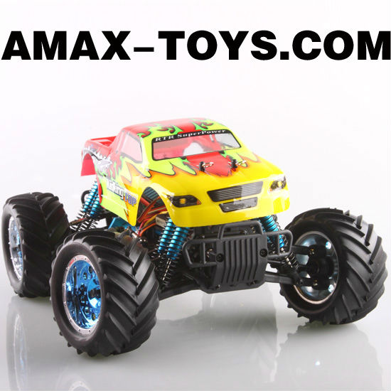 16860TOP mini monster truck 1:16 4WD Electric Power Remote Control Monster Truck