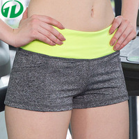 different colors women sports jogger shorts