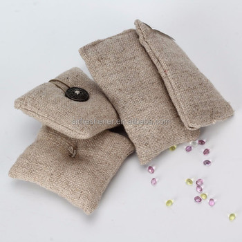 OEM design customer cloth linen scented sachat, aromatic small bag