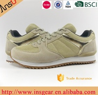 Retro shoes from jinjiang shoe manufacturer have BSCI certification