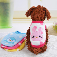 Extra Small Dog Fleece Shirt Dog Clothes Winter Puppy