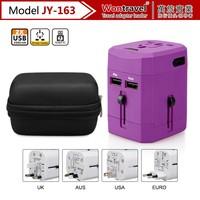 UK/EU/US/AUS plug 5V 2A usb travel plug power adapter for mobile phone usb charger