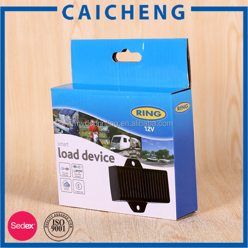 Automotive accessories packaging corrugated paper box