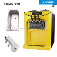 Donper new products health food machinery soft ice cream maker prices