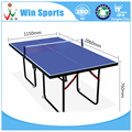 16mm MDF mini table tennis tables for kids
