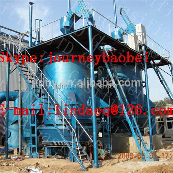 QM 3.2m single stage hot coal gas furnace for lead melting equipment