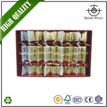 With quality warrantee safe christmas crackers fireworks bonbon wedding party crackers