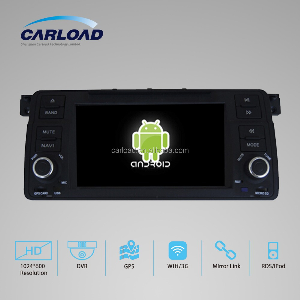 "Android 4.4.4 system Car navigation for bmw E46 7"" 2 din"