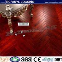 We are the best choice --click vinyl cork floor