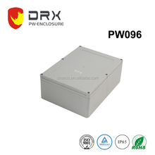 Grey Waterproof Plastic Electronic Led Light Enclosure Box