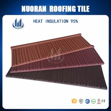Nuoran heat resistant roofing sheets real estate ce certified india red roof tile