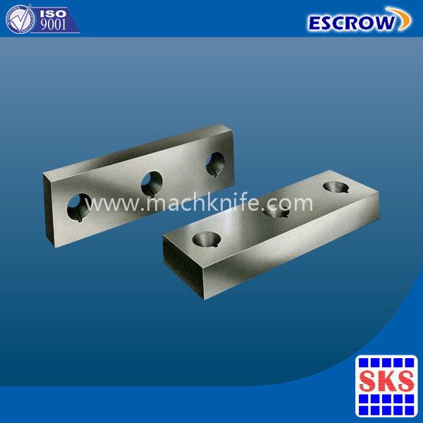 Squaring Shear Knife and cutter blade