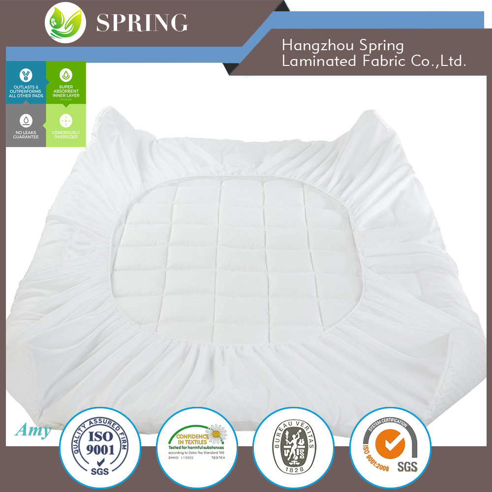 hypoallergenic waterproof hotel collection mattress protector Cal King size
