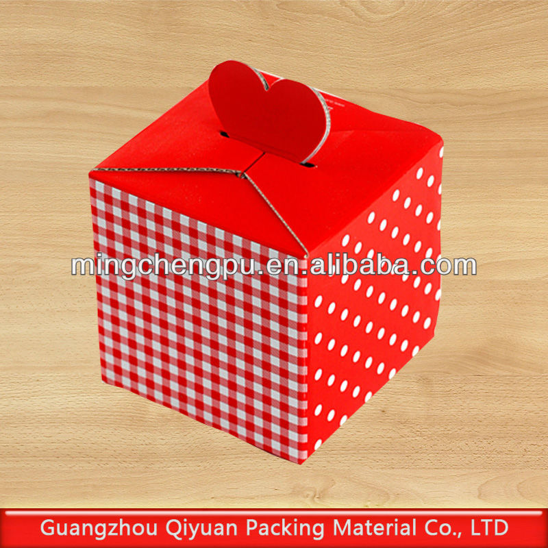 Reveal Personality Love Check Gift Packing Box