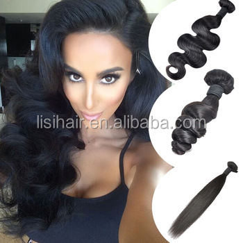 Alibaba New Fashion No Tangle No Shedding Best Price Natural Hair Weaves For Black Women
