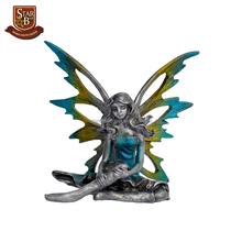 Colorful pewter fairy hand made decoration pieces for wholesales
