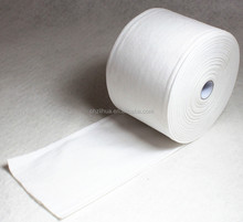 high oil water super absorbent nonwoven cleaning cloth roll/Soft towel roll/White rags