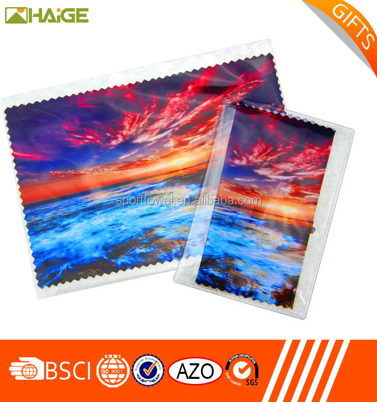 Microfiber industrial lens cleaning cloth