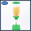 Plastic Classic Dry Food Cereal Dispenser Single Canister