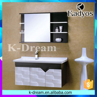 bathroom sink cabinets/ modern bathroom cabinet KD-BC003W
