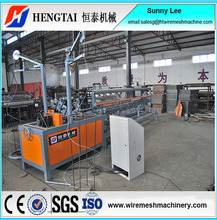 Fully Automatic Used Chain Link Fence Making Machine With CE Certificate