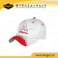 2016 New Style Wholesale China Custom 100% Cotton 3D Embroidery Baseball Cap