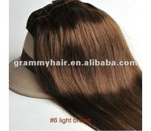 2012 hot sell china two tone hair extension brazilian hair sew in hair extension