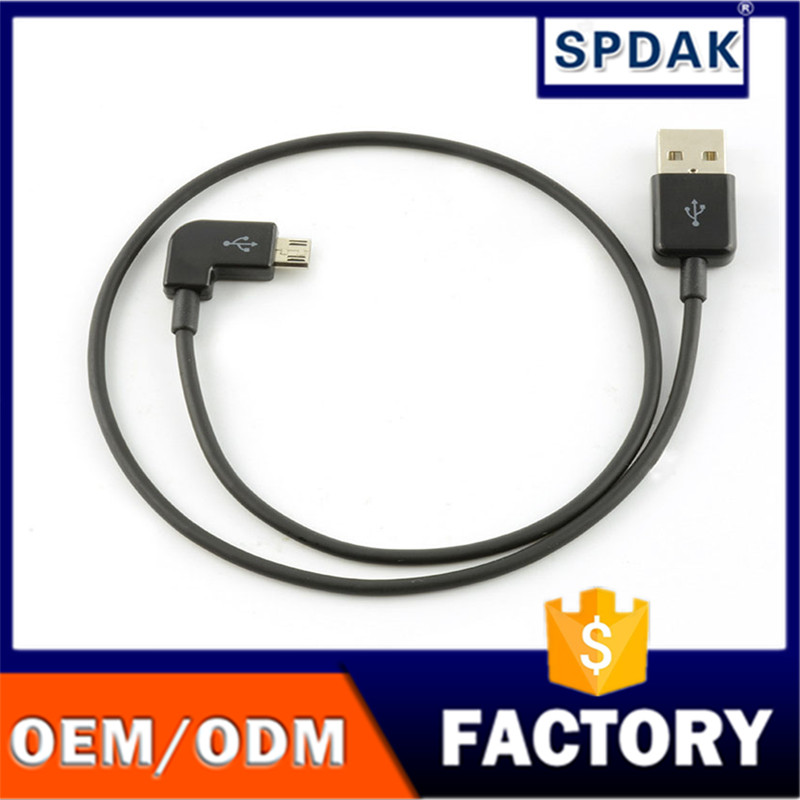 1 m 2 a android micro5p quick charge line 90 degrees elbow USB mobile phone cables
