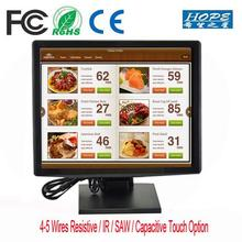 "10 Touch Points 17"" inch USB Capacitive Multi touch Screen monitor"