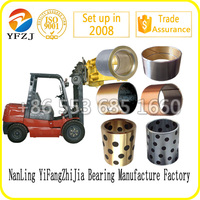 factory direct sales sliding bearings, oil bearing,excavator parts