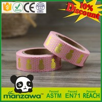 China supplier drywall joint paper tape simple christmas card line washi tape flower yellow washi tape clips
